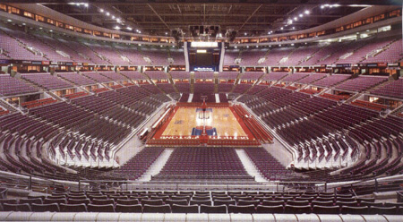 Palace Of Auburn Hills Basketball